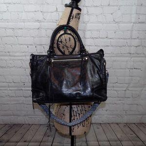 Rebecca Minkoff glazed leather Moto